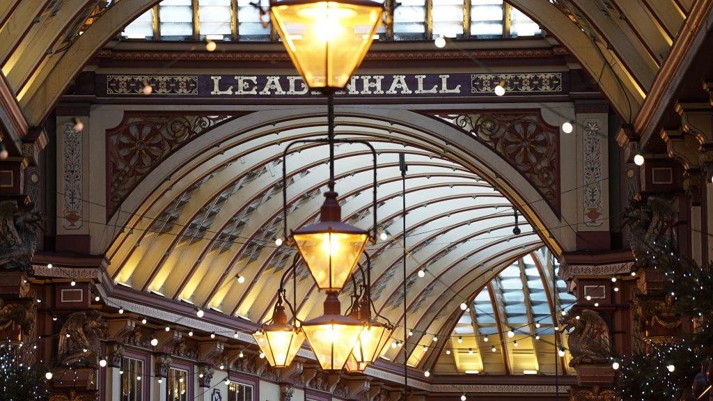 leadenhall market london so british vintage