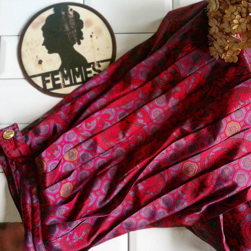 Ma sélection part II : une jupe plissée à motif