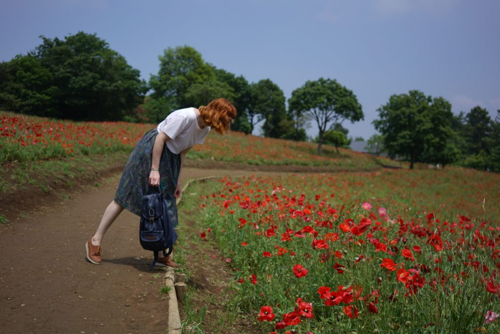 poppy field hylla outfit tokyo