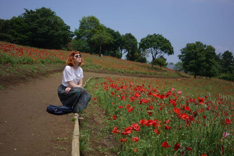 poppy field japan tokyo hylla midi skirt