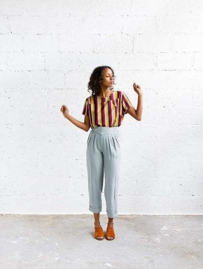 Mamamushi pantalon lin Jaffa été 2017