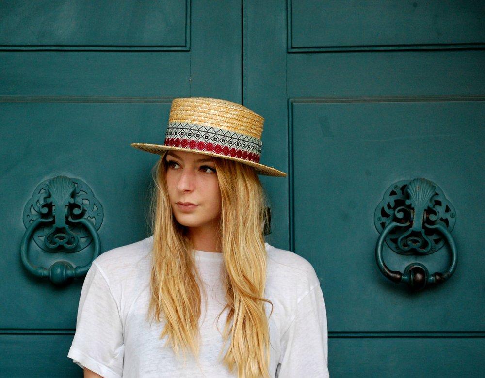 sélection estivale SS17 chapeau canotier alpachura