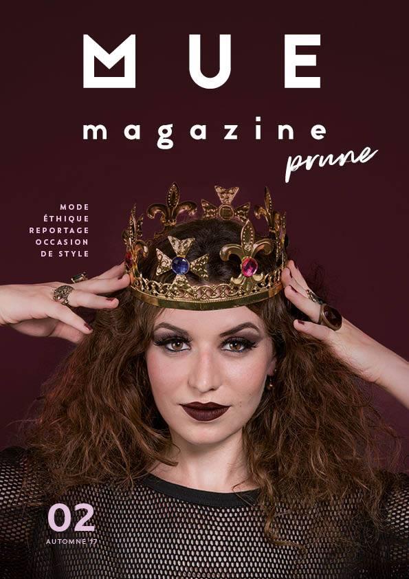 mue magazine prune numéro 2 mode éthique