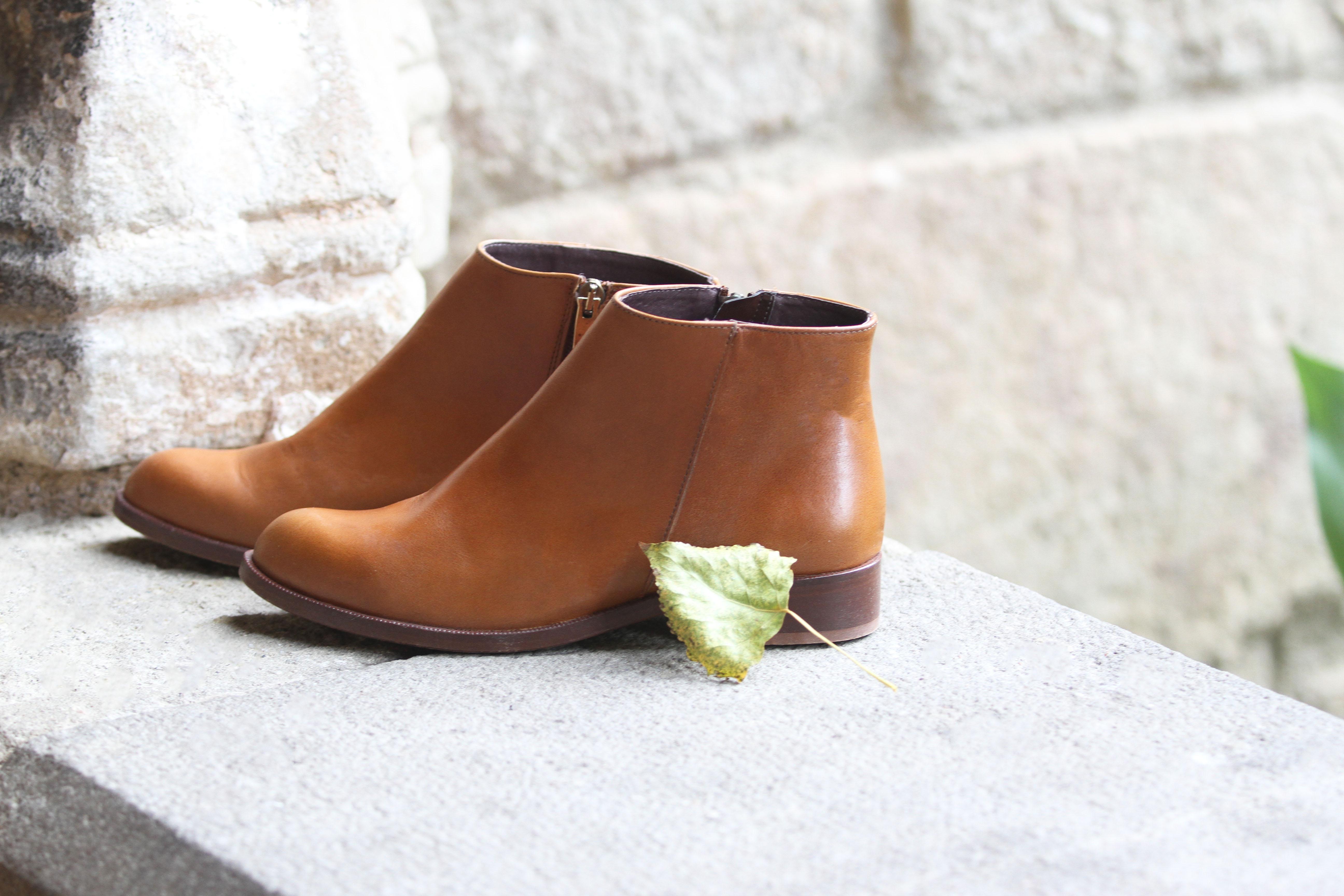 Jules & Jenn les collections chaussures femme bottines plates