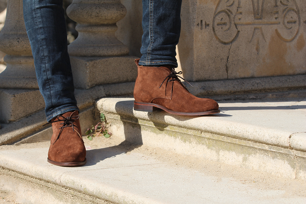 Jules & Jenn chaussures homme boots