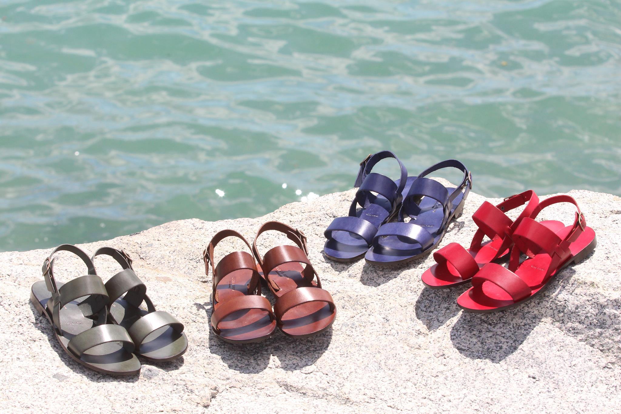 Jules & Jenn les collections chaussures femme sandales plates