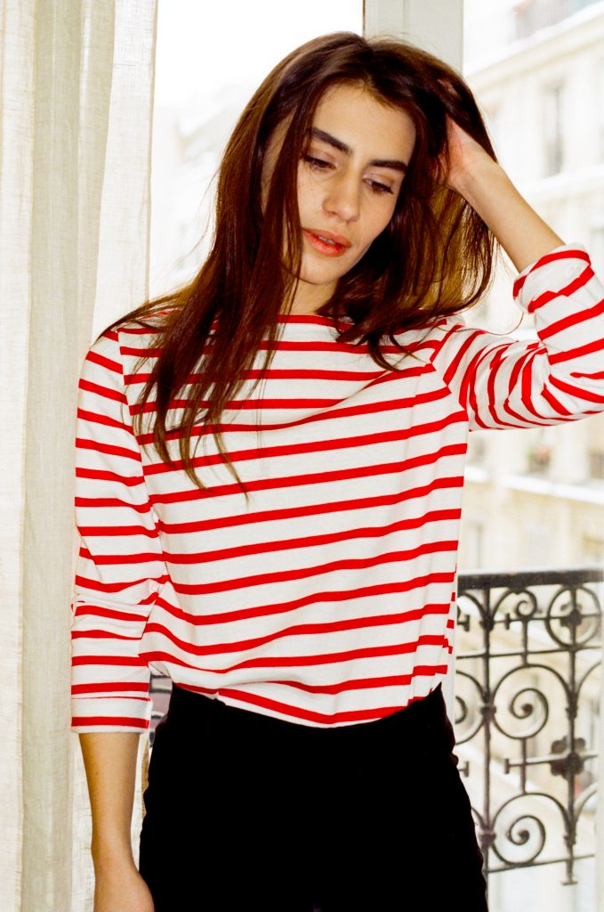 Les Sublimes le dressing ideal mariniere breton top