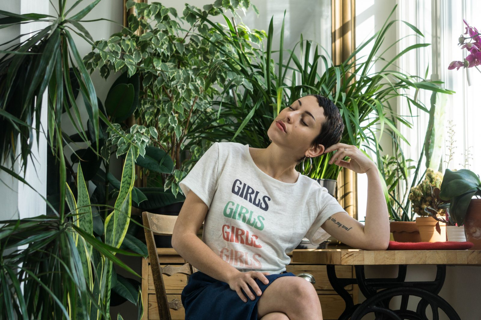 Aatise Tshirt compostable made in france lin linen